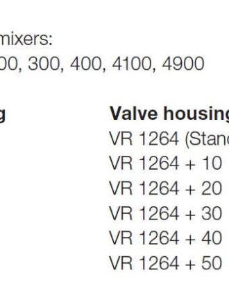 Vola VR1264+10