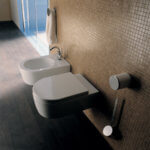 Flaminia Link WC. Wall Hung. Rimless.
